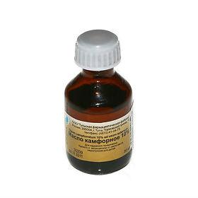 Камфорное масло, 30мл