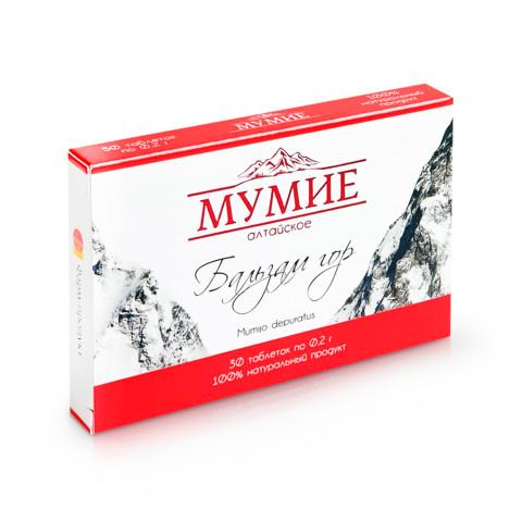 Мумие Алтайское 30 таб Бальзам Гор