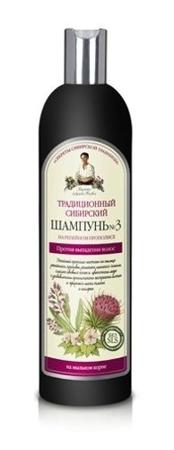 РВА Тардиционный Сибирский Шампунь No3 Репейный прополис Против выпадения волос, 550мл