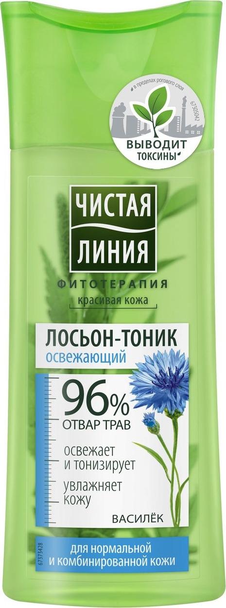 ЧЛ Лосьон-тоник для нормальной и комбинированной кожи Василёк, 100мл Чистая Линия