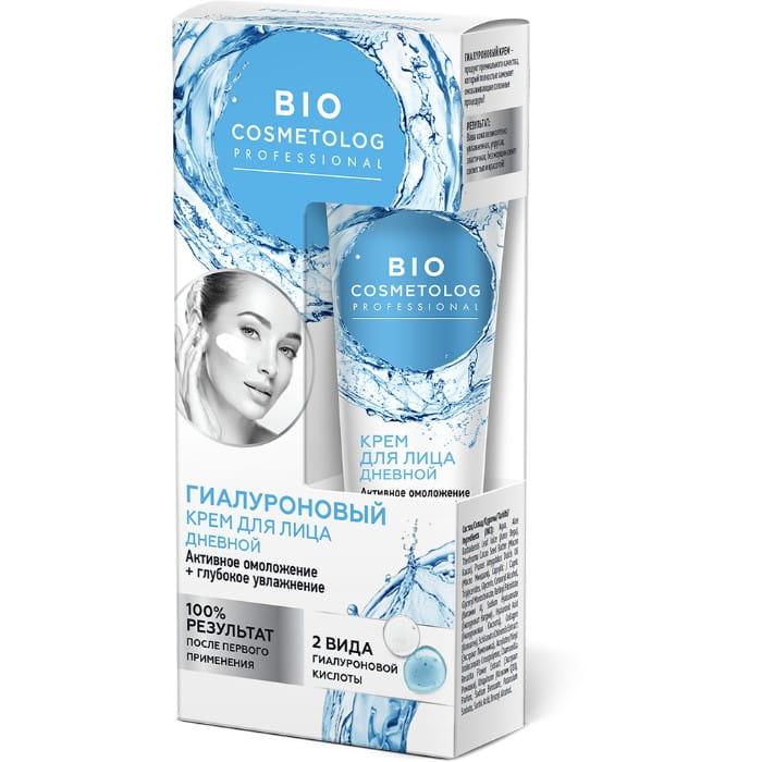 BC Гиалуроновый дневной крем для лица, 45мл Bio Cosmetolog