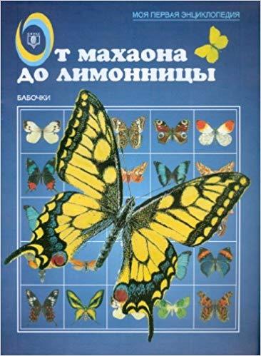 От махаона до лимонницы. Бабочки.