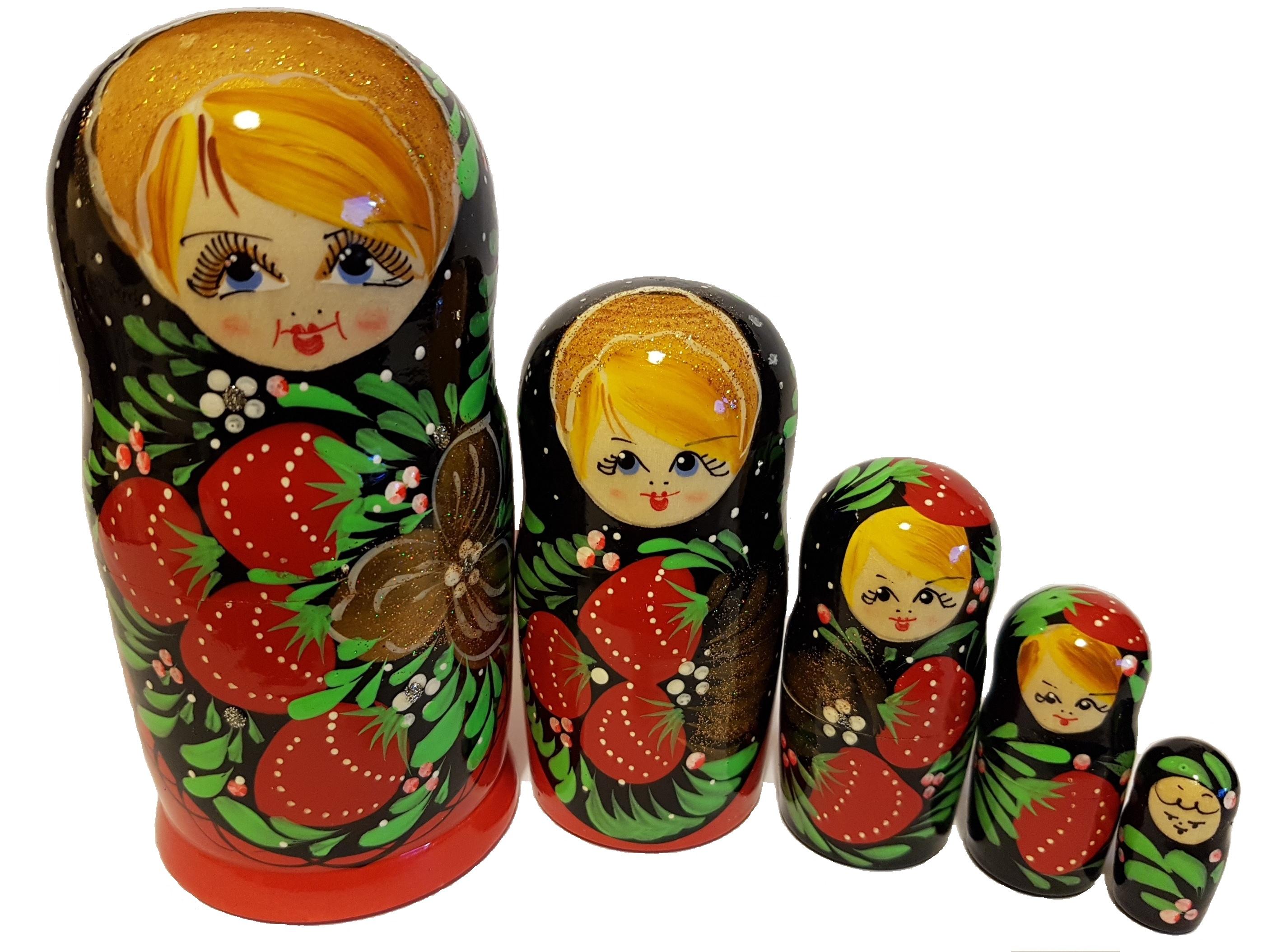 S. 21 - Матрешка 15 см 5 кукол