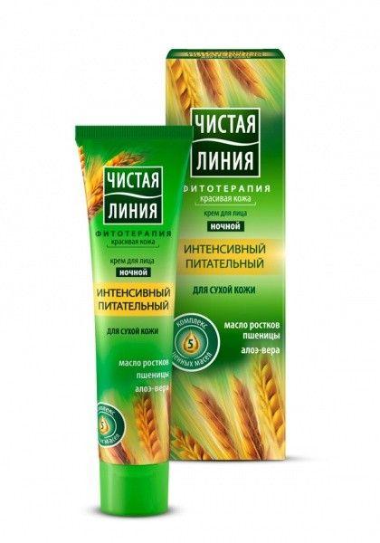ЧЛ Ночной крем для лица для сухой кожи интенсивный питательный, 40мл Чистая Линия