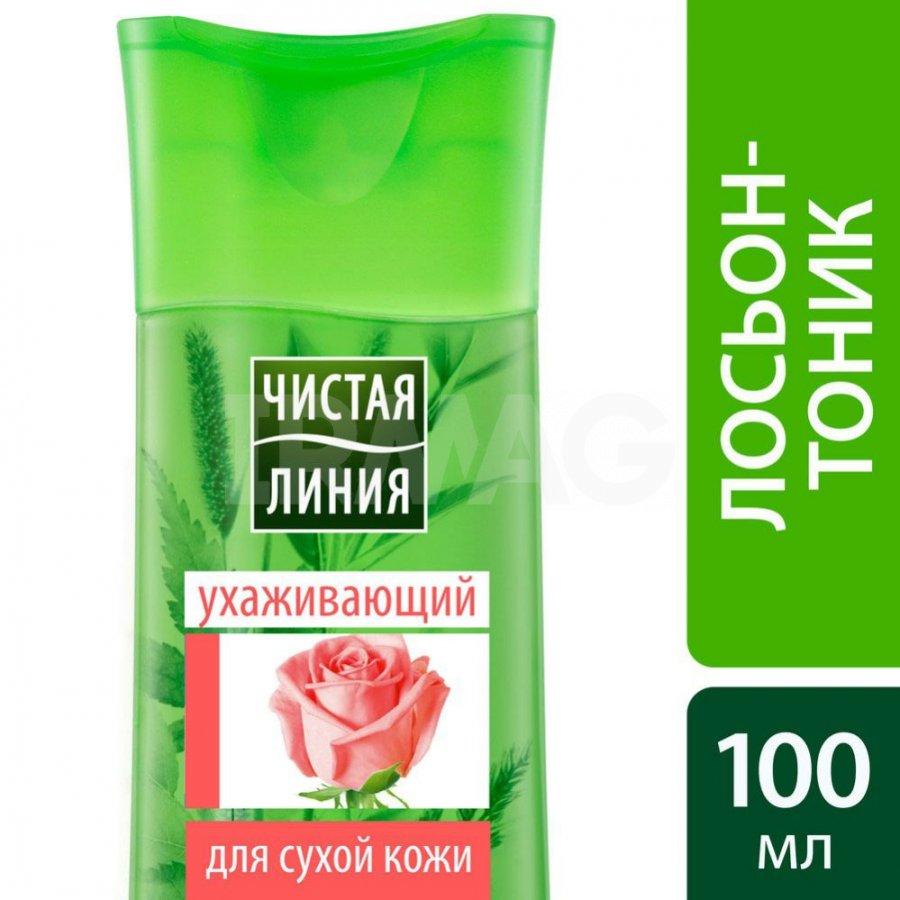 ЧЛ Лосьон-тоник для лица для сухой и чувствительной кожи Лепестки розы 100 мл