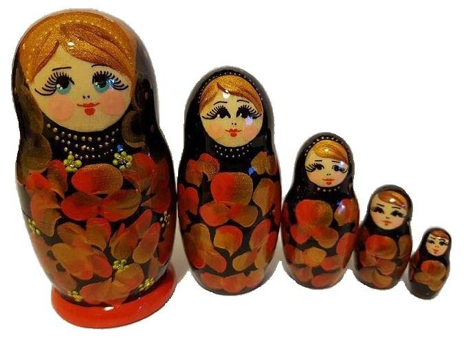 S. 35 - Матрешка 11 см 5 кукол