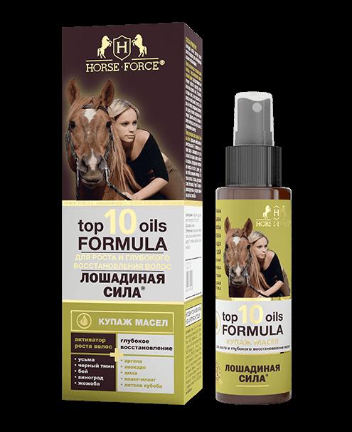 ЛС Купаж масел для роста и глубокого восстановления волос Top 10 Oils, 100мл