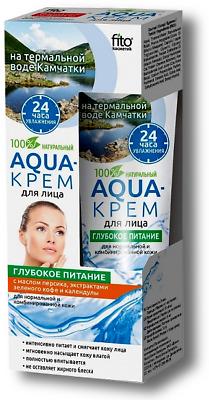 Aqua-крем для лица на термальной воде Камчатки, 45 мл Fito