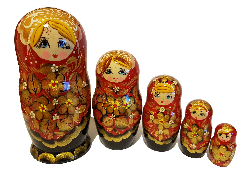 S. 10 - Матрешка 18см 5 кукол